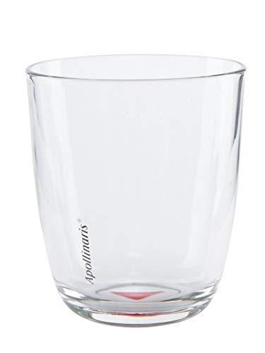 Apollinaris 6 original Mineralwasser Gläser Gastro Edition Design Glas