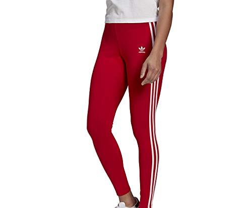 adidas GN8076 3 STR Tight Leggings Donna Scarlet 44