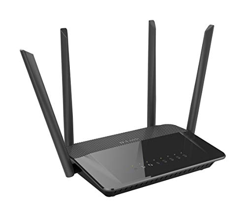 D-Link Dir-842 Wireless Gigabit Router (Wlan-Snelheden Tot 1200 Mbit/S, Ac1200 Dual Band)