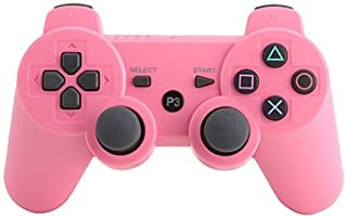go Bluetooth sans fil rechargeable DOUBLESHOCK 3 pour PS3 (Retail Box, couleurs assorties) , Rose dragée