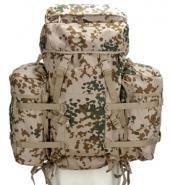 A. Blöchel Grand US Army Montagne Sac à dos 80+20 Litres + 2 Revêtements de camouflage différentes couleurs - camouflage tropical