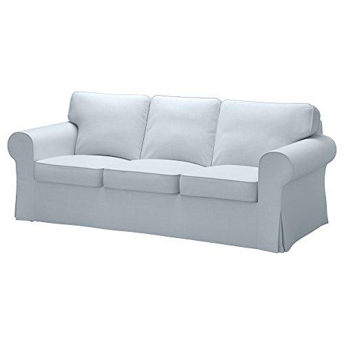 IKEA Ektorp ソファ用カバー Nordvalla ライトブルーの写真