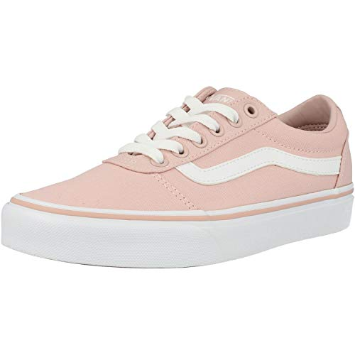 Vans Damen WM Ward Sneakers, Pink Canvas Sepia Rose Oln, 36 EU