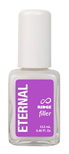 Eternal Ridge Filler Gel – Clear Nail Polish Base Coat and Primer for Smooth Nails - 1 Unit