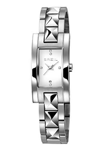 Orologio BREIL donna KATE quadrante bianco e bracciale in acciaio, movimento SOLO TEMPO - 3H QUARZO