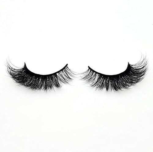SELLA Eyelashes 3D Mink Eyelashes Crossing Mink Lashes Hand Made Full Strip Eye Lashes 34 Styles False Lashes,A19,visofree