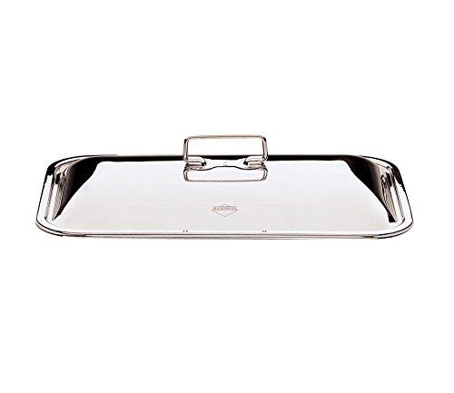Küchenprofi Deckel zu Bayr. Bräter 40 cm, Chrom, Silber, 40 x 20 x 20 cm