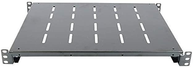 350mm adjustable fixed shelf 1U rack 19 inch