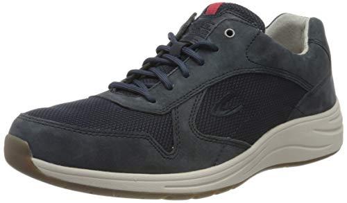 camel active Herren Fusion Sneaker, Blau (Navy 04), 42 EU