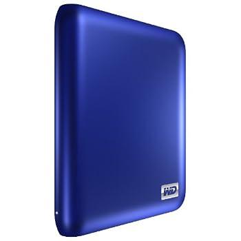 Western Digital My Passport Essential SE 1 TB USB 3.0/2.0 Ultra Portable External Hard Drive  Metallic Blue