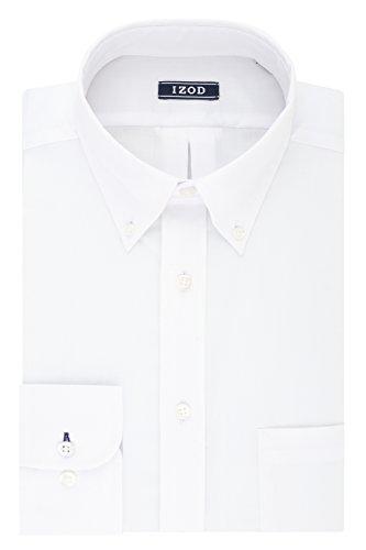 IZOD Men's Dress Shirt Regular Fit …