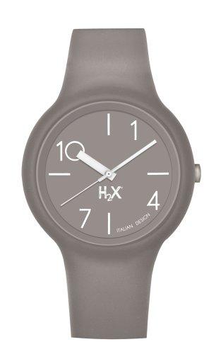 Haurex Damen Analog Quarz Uhr mit Gummi Armband SM390DM1