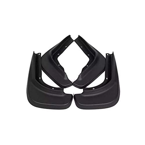 NADAENDR 4 guardabarros para coche para VOLVO S40 2008-2012 delantero trasero duradero, kit de protección para salpicaduras, accesorios para el estilo del cuerpo