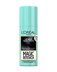 L'Oréal Paris Magic Retouch Spray Retoca Raices y Canas para Pelo Negro - 75 ml