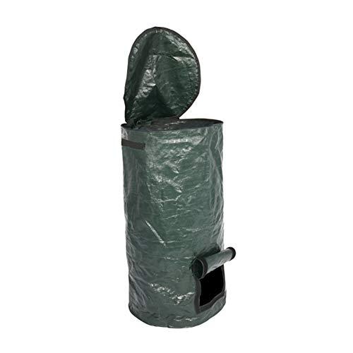 Bolsa de compostaje ambiental, Cultivador orgánico PE Compost Bolsa de compostaje de jardín, Bolsa de fermentación casera para cocina, desechos orgánicos, bolsa de compost, 45 x 80 cm (1 unidad)