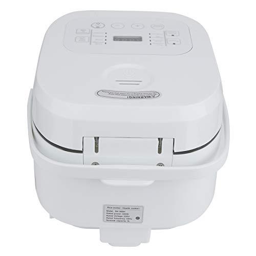 Intelligenter Reiskocher, 3 l, Reiskocher, Reiskocher, Reiskocher mit Timer und Warmhaltefunktion, zum Kochen, Aufwärmen (EU 220 V)