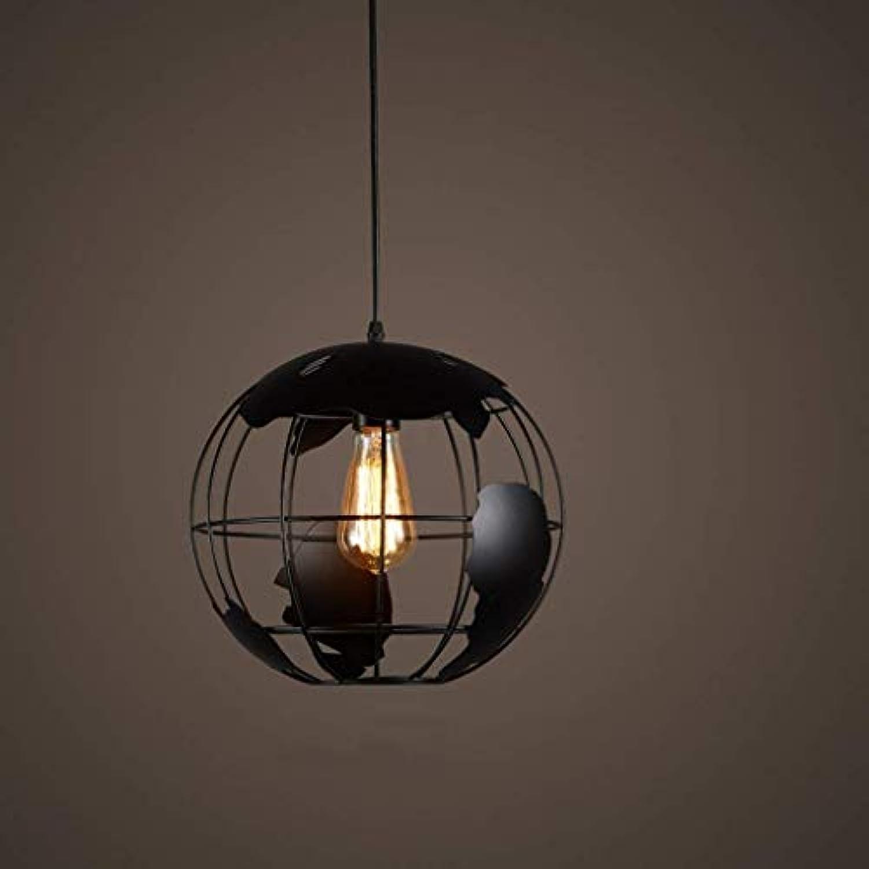 SPA  Globe Loft Eisenlampen und Laternen Restaurant Bar Retro Bar Lustre Runde Schpfung Gang Treppen Einzelkopf E27 Auswhlen (Farbe    3) (Farbe    3)