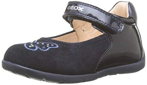 Geox B Kaytan B, Ballerine Bimba 0-24, Blu (Dk Navy C4021), 21 EU