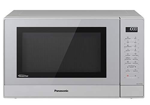 Panasonic NN-GT47KMGPG Combi magnetron (1000 watt, met grill, inverter magnetron, 31 liter) zilver