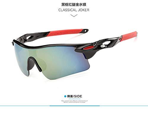 Gafas de Sol Deportivas Hombres Mujeres Gafas de Ciclismo Gafas de Sol de Bicicleta de montaña UV400 Gafas de Deporte de Carretera Gafas de Bicicleta Montar gafasHombres Mujeres Ga