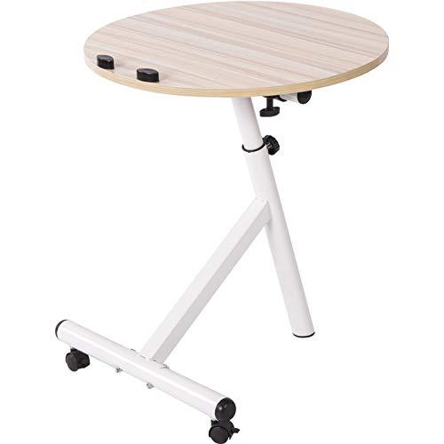 JIE mobiele theetafel, moderne minimalistische woonkamer slaapkamer kleine salontafel, ronde ronde bijzettafel/klein bureau