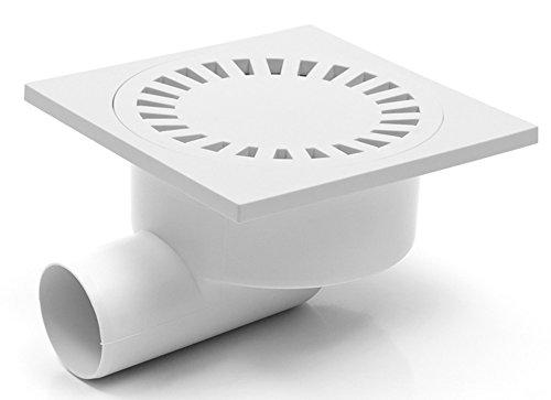 Duschablauf Bodenablauf in Kunststoff 150x150 mm DN50 (326 P)