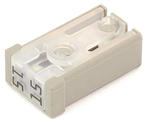 5 Littelfuse 0695015.PXPS Slotted MCASE+ Cartridge Fuse, 15A, 32V, Time Delay
