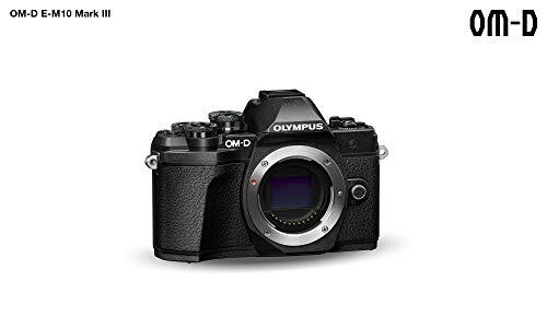 Olympus E-M10 Mark III Fotocamera Digitale, Nero