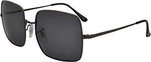 SQUAD Polarizadas Gafas de sol Hombre y Mujer Fashion Cuadradas protección UV400 Con cierre de aro Unisex
