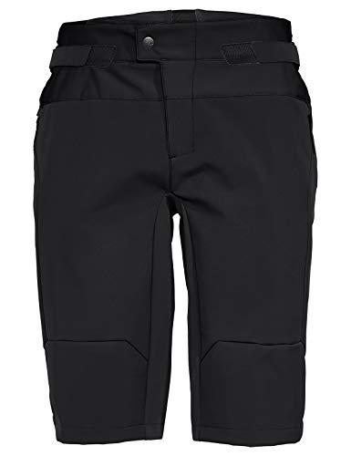 VAUDE Herren Men's Qimsa Softshell Shorts Hose, Black, XS