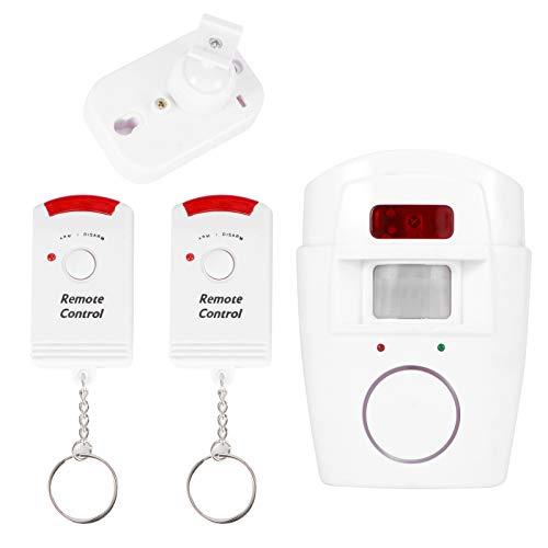 Giny Alarma de Puerta y Ventana, Alarma de Puerta, Sistema de Alarma de Sirena de 105dB Infrarrojos para Oficina de Seguridad en el hogar