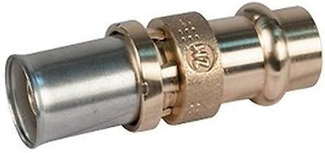 RMV103 Rechte koppeling met persfitting RM103Y133 16 x 2 - Ø 15 GIACOMINI