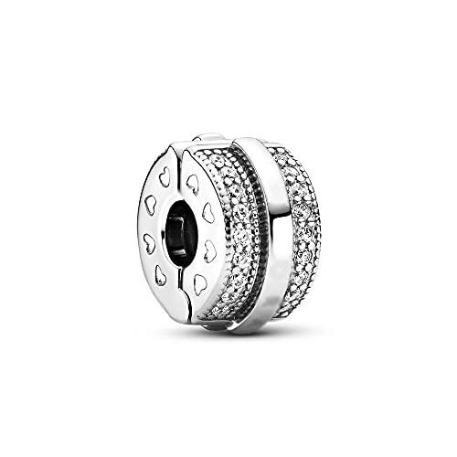 LIIHVYI Pandora Charms para Mujeres Cuentas Plata De Ley 925 Accesorios De La Joyería De La Joyería Compatible con Pulseras Europeos Collars