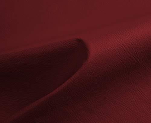HAPPERS 1 Metro de Polipiel para tapizar, Manualidades, Cojines o forrar Objetos. Venta de Polipiel por Metros. Diseño Nacor Color Caldera Ancho ±140