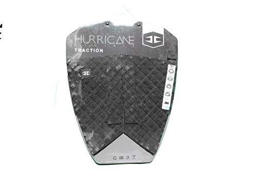 HURRICANE - Almohadilla de tracción para tabla de surf, color negro
