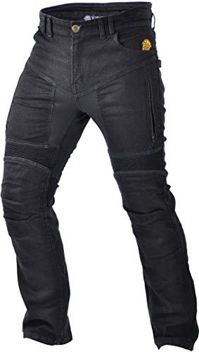 Trilobite Parado Black Motorradjeans Kurz 36