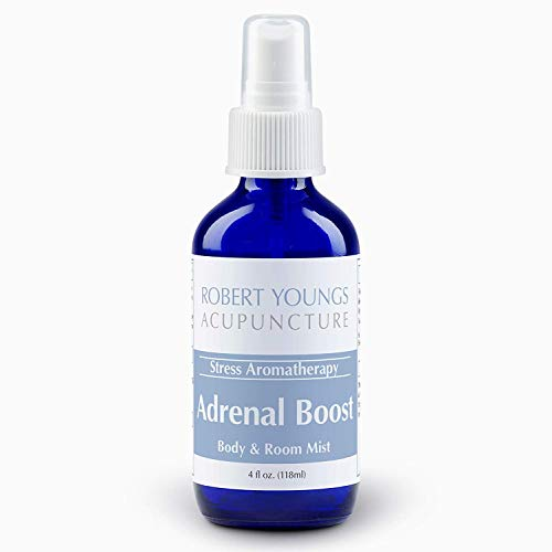 Adrenal Gland & Cortisol Boost Essential Oil Spray Blend | Maximum Strength Jump Start for Energy, Wellness, Mental Power | Systemic Aromatherapy Reduces Fatigue, Stress, Anxiety, Depression, PMS