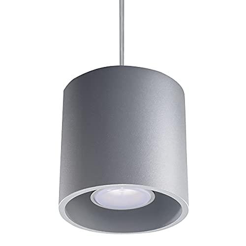 Lampa Wisząca GAJA 1 Szary