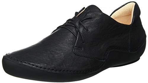 Think! Damen KAPSL_3-000204 nachhaltige, Wechselfußbett Sneaker, 0000 SCHWARZ, 41 EU