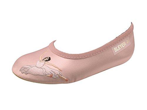Gymschoenen in satijn model Ballerina maat 25