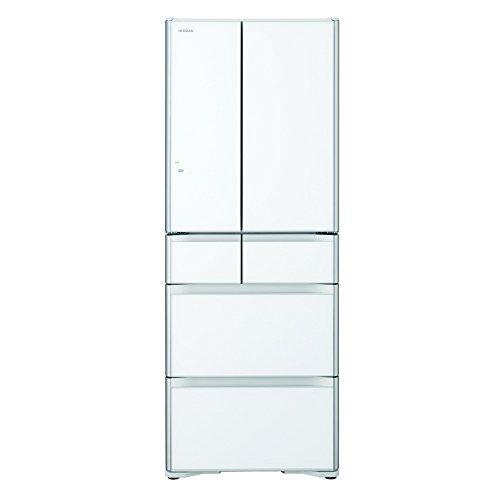 日立 真空チルド 冷蔵庫 プレミアムXGシリーズ 555L クリスタルホワイト R-XG5600G XW