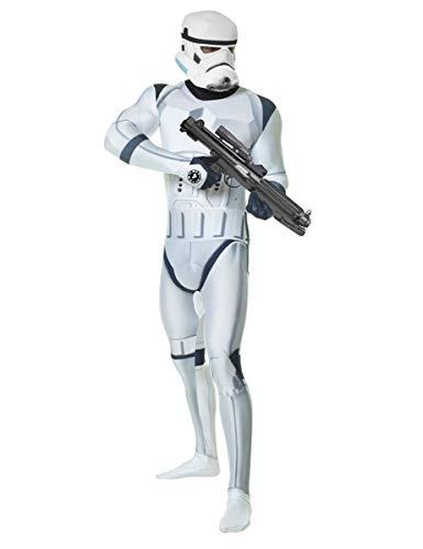 STAR WARS STORMTROOPER Digital Morphsuit Lizenz Ware Bianco Nero