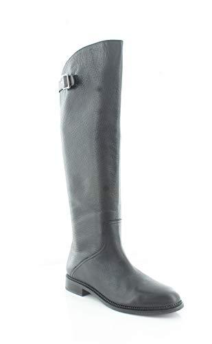 Franco Sarto Halloway Black Leather Boots-6.5