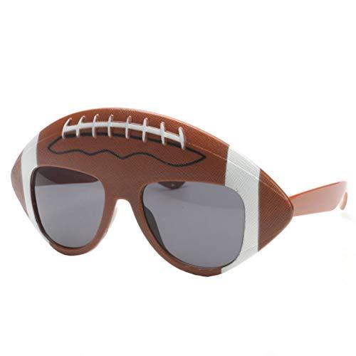 BESTOYARD Fußball Party Sonnenbrille Super Bowl Party Favors Lustige Rugby Brillen Foto Booth Requisiten