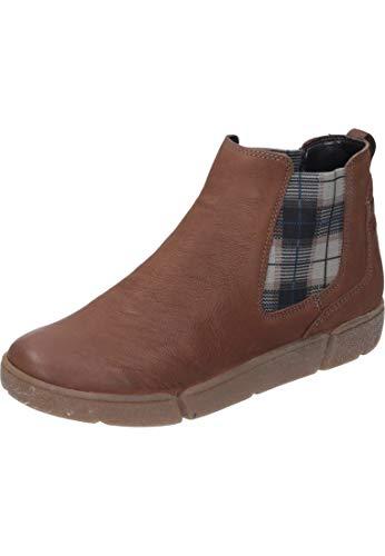 ARA Damen ROM 1214441 Hohe Sneaker, Braun (Cognac 11), 40 EU