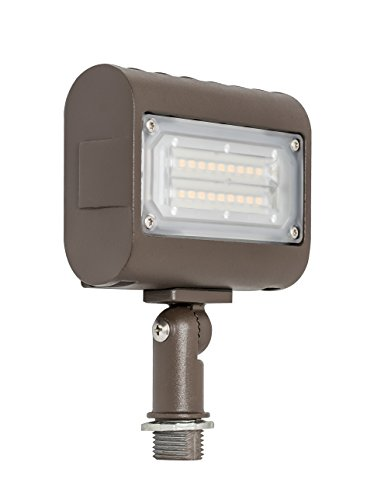 Westgate Lighting LED Flood Light with Knuckle Mount - Security Floodlight Fixture for Outdoor Yard Landscape Garden Lights - Safety Floodlights - UL Listed (15 Watt 3000K Warm White)
