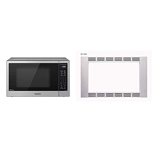 "Panasonic Optional 27"" Trim Kit for 1.2 cuft Microwaves, Stainless Steel, NN-TK621SS"