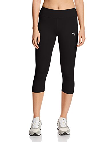 Puma Damen Tights WT Essentials 3/4, black, S, 512806 01
