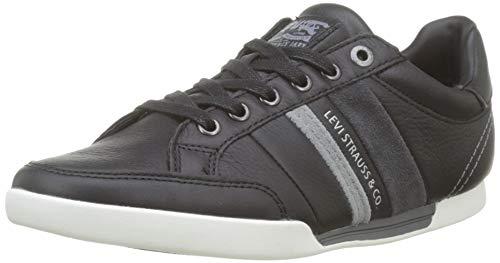 Levi's Turlock, Zapatillas para Hombre, Negro (Shoes 59), 42 EU