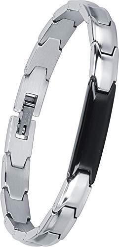 Smarter LifeStyle Elegant Couples His and Hers Distance Bracelets, Surgical Grade Steel (Single Bracelet (Hers/Women's))